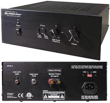 ButtKicker BKA1000-4 Amplifier