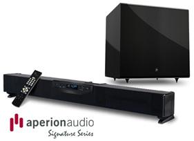 Aperion Signature SLIMstage30 Soundbar System