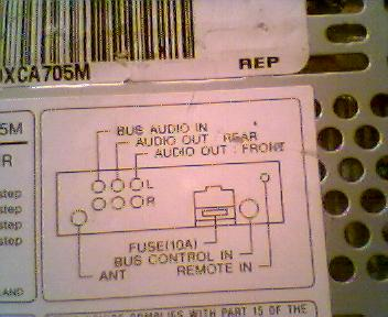 sony cdx ca705m how can i install it in my room ecoustics com rh ecoustics com Sony Stereo Wiring Colors Sony Wiring Harness Colors