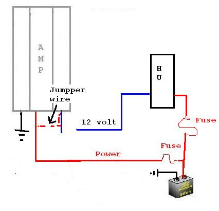 amp in protect mode ecoustics com rh ecoustics com 6 Speakers 4 Channel Amp Wiring Diagram Alpine Amplifier Wiring Diagram