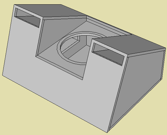 Yanks SI Mag 15 Dual Ported Box - ecoustics com
