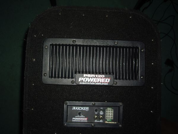 Kicker Psr 120 Powered Substation