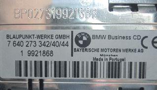 Code For Cd43 Bmw Business Cd Radio Ecousticscom