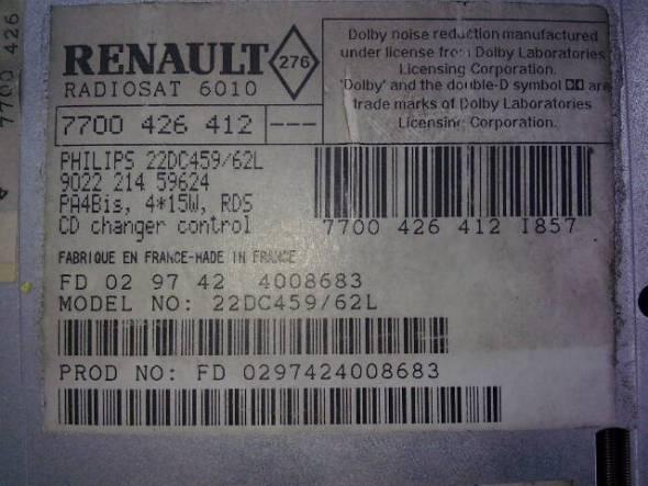 renault philips radio 22dc479 62 code needed ecoustics com rh ecoustics com