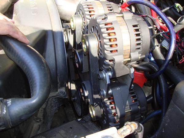 Alternator Belt Cost >> Dual or Triple alternator bracket sale - ecoustics.com