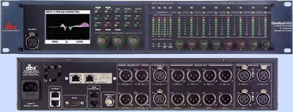 Behringer Ultradrive Pro Dcx2496 Speaker Management System
