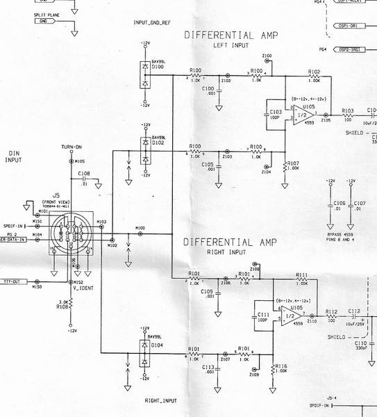 bose cable pinouts ecoustics com Bose CineMate Series II at Bose Cinemate Series Ii Wiring Diagram