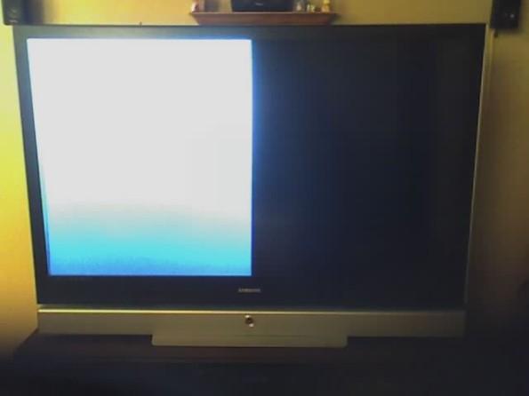 Screen Half Black On Samsung Dlp Ecoustics Com