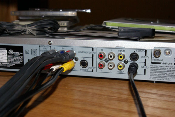 Connecting Tv Receiver Satellite And Toshiba Recorder
