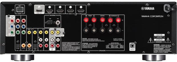 Yamaha RX-V471 A/V Receiver - back