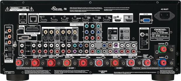 Onkyo TX-NR1009 DTS Neo:X A/V Receiver - Back