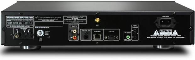 NAD C 446 Digital Media Player - Back