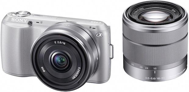 Sony NEX-C3 APS-C Digital Camera with Lenses
