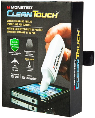 Monster CleanTouch Pen for Portable Electronics Screens - Packaging