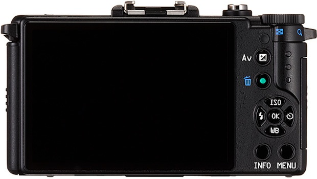 PENTAX Q Interchangeable Lens Digital Camera - back