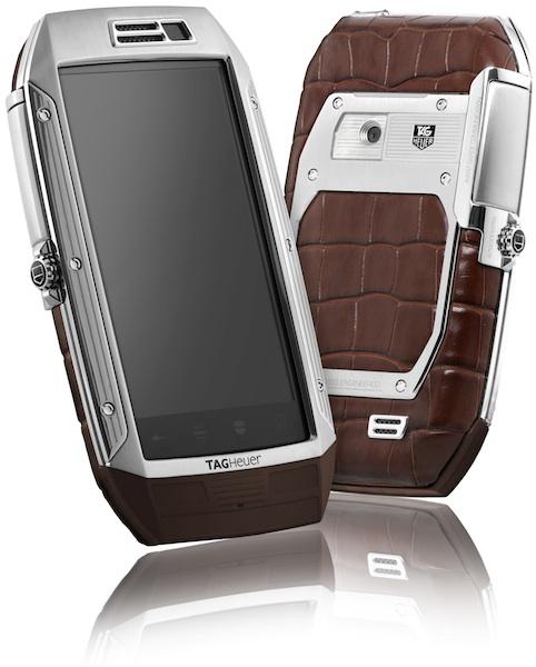 TAG Heuer Link Luxury Smartphone - Brown Alligator