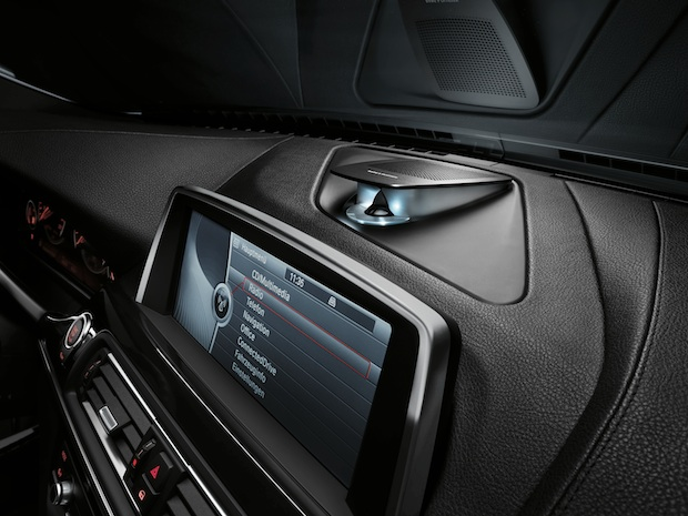 BMW 6 Series Bang & Olufsen Surround Sound System - Dash