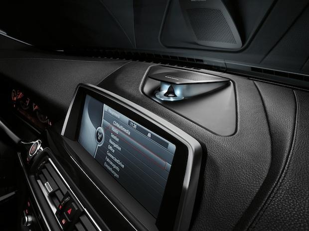 BMW 6 Series Bang & Olufsen Surround Sound System - Dash