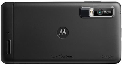 Motorola DROID 3 Smartphone - Back