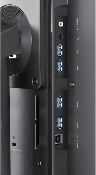 Samsung SyncMaster SA850 LCD Monitor - Terminals