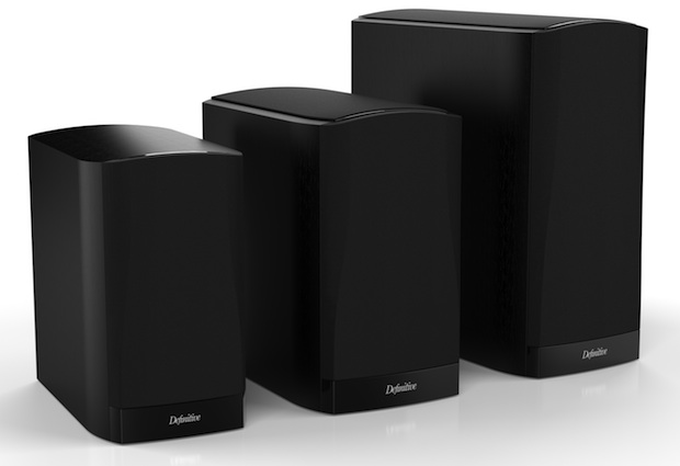 Definitive Technology SM45, SM55, SM65 StudioMonitor Bookshelf Speakers with grille