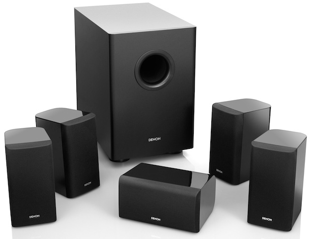 Denon SYS-1312 5.1 Home Theater Speaker Package