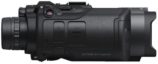 Sony DEV-5 Digital Recordable Binoculars - side