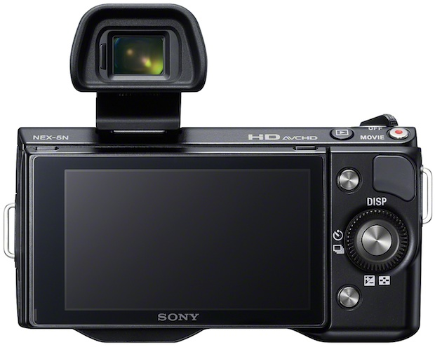 Sony Alpha NEX-5N Interchangeable Lens Digital Camera - back
