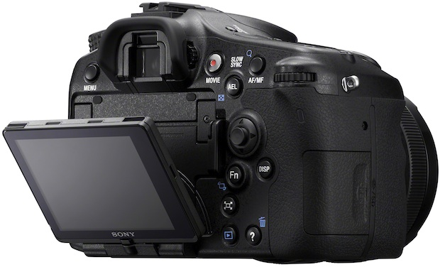 Sony Alpha SLT-A77 Interchangeable Lens Digital Camera with Tilt LCD