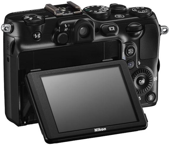 Nikon COOLPIX P7100 Digital Camera - Back