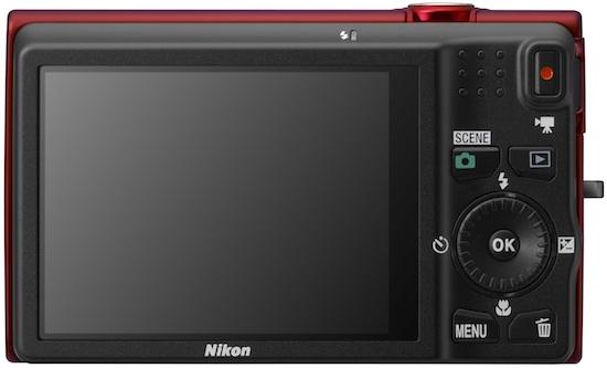 Nikon COOLPIX S6200 Digital Camera - Back