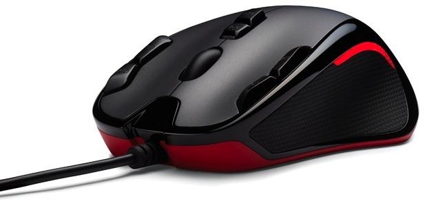 Logitech G300 Gaming Mouse - side