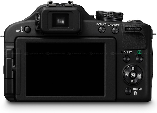 Panasonic DMC-FZ150 Lumix 3D Digital Camera - back