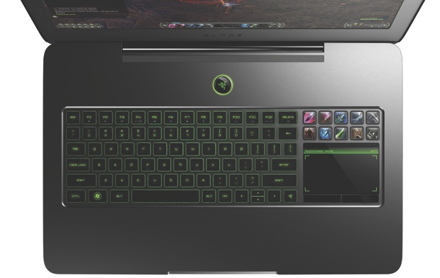 Razer Blade Gaming Laptop - Top