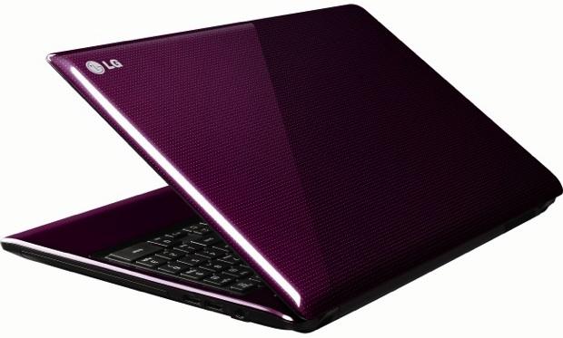 LG Aurora S530 Notebook - purple