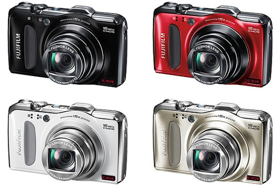 FujiFilm FinePix F600EXR Digital Camera - colors