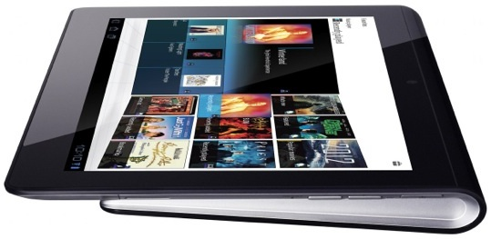 Sony Tablet S - side