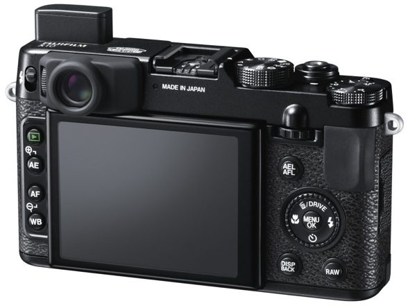 FujiFilm X10 Digital Camera - back