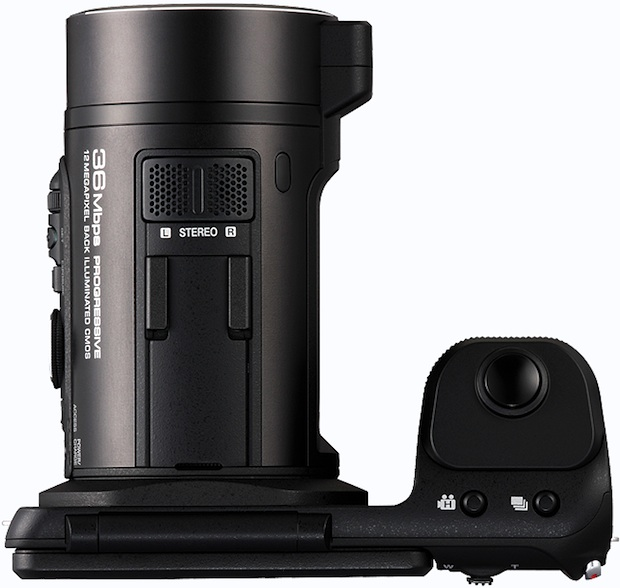 JVC GC-PX10 Hybrid Digital Camera/Camcorder - top