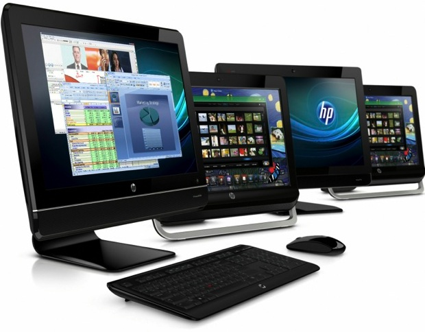 HP Omni, TouchSmart, Elite and Pro All-in-One PCs
