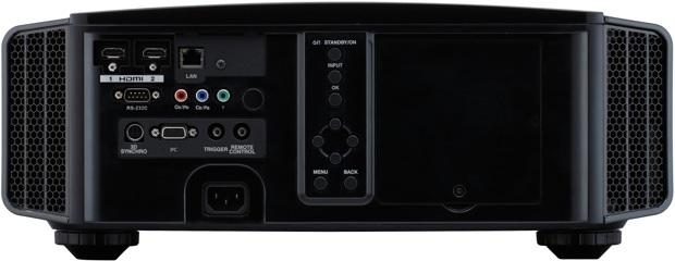JVC DLA-X70R / DLA-RS55 D-ILA THX 3D 4K Projector - Back