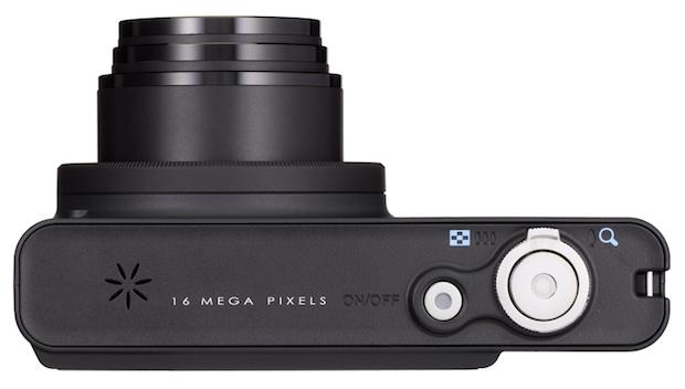 PENTAX Optio RZ18 Digital Camera - Top