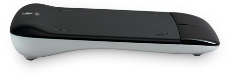 Logitech Wireless Touchpad - side
