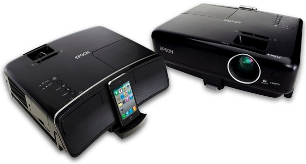 Epson MegaPlex MG-850HD and MG-50 3LCD Projectors for iPhone