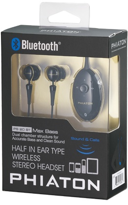Phiaton PS 20 BT Bluetooth Stereo Headset