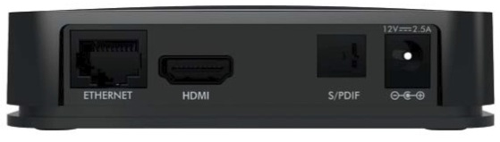 Netgear NTV200 NeoTV Streaming Player - back