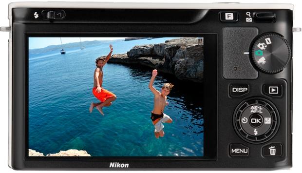 Nikon J1 Interchangeable Lens Digital Camera - back