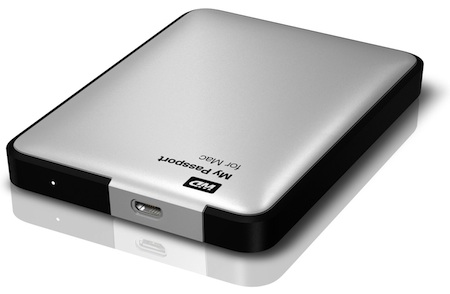 WD My Passport for Mac Portable Hard Drives