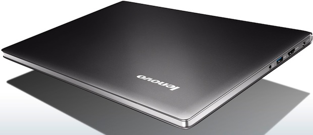 Lenovo IdeaPad U300s Ultrabook Laptop - Closed