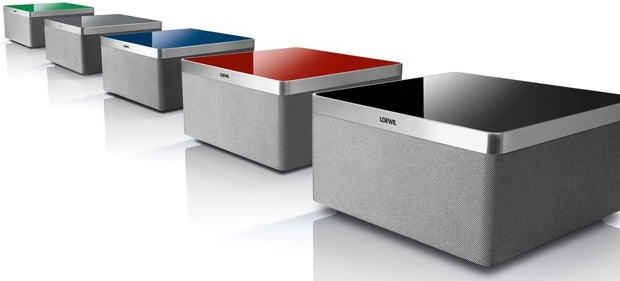 Loewe Air Speaker with AirPlay for iPhone, iPod, iPad - Colors